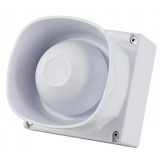 F32-120 W Outdoor Starktonsirene weiss IP 66