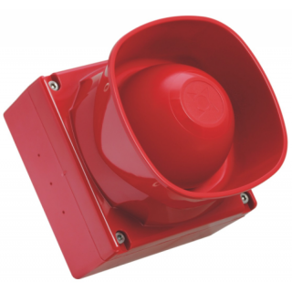 F32-120-R Outdoor Starktonsirene rot IP 66
